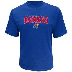 NCAA Men's T-Shirt - University of Kansas Jayhawks
