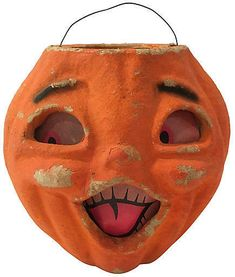 One Kings Lane Vintage 1940s Halloween Jack-O-Lantern