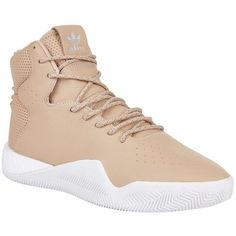 Adidas Originals Tubular Instinct High-Top Sneakers ($150) ❤ liked on Polyvore featuring men's fashion, men's shoes, men's sneakers, mens high top sneakers, mens high top shoes, g star mens shoes and mens perforated shoes