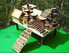 Cute gerbil playground idea