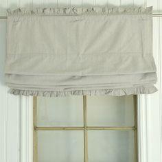 *Raff Rollo*Gardine Natur Shabby Chic Curtain Landhaus