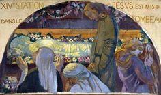 Maurice Denis, Jésus mis au tombeau, chapelle Saint-Germain, Saint-Germain-en-Laye