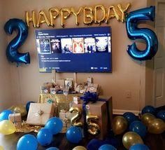 Boyfriends 25th Birthday Decor Ideas
