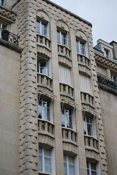 Art deco, paris, pav