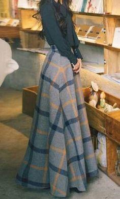 Women s Skirts - - Johanna sfashionclassy Womens Fashion Hi. Women s Skirts – – Johanna sfashionclassy Womens Fashion High Waist A-Line Look Fashion, Winter Fashion, Womens Fashion, Fashion Design, Fashion Ideas, Fashion Hacks, Classy Fashion, Young Fashion, Petite Fashion