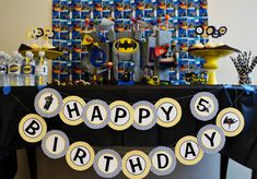 Super Heroes:  Batman Birthday Party Ideas | Photo 1 of 10
