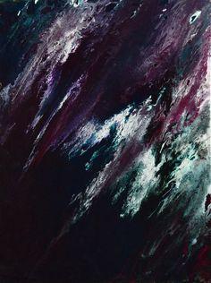 Waves. Mixed media
