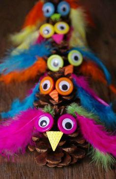 45 DIY Ideen für Basteln mit Kindern Herbst #autumn #kastanien #pinterest #tannenzapfen #kindergarten #craft #halloween #igel #herbstdeko #selber #erwachsene #herbstdekobasteln #papier #filz