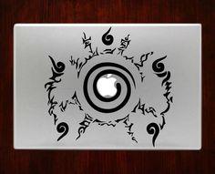 "Naruto Seal Logo Anime Decal Vinyl Sticker For Macbook Pro Air Laptop 13""15"" $8"