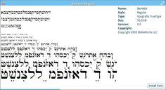 fuentes griegas y hebreas para word