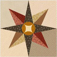 Country Rose Quilts: Bloque 10 Rumor