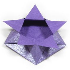 Super Ideas For Origami Star Box Paper Crafts Origami 101, Origami Owl Watch, Easy Origami Flower, Origami Boat, Cute Origami, Origami Star Box, How To Make Origami, Useful Origami, Origami Stars