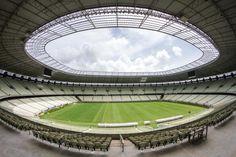 Arena Castelão é a primeira da América do Sul a receber a certificação LEED #arquiteturasustentavel #LEED #greenbuilding