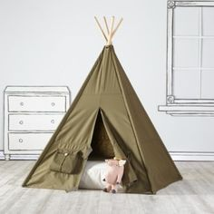 A Teepee to Call Your Own (Green Cargo)