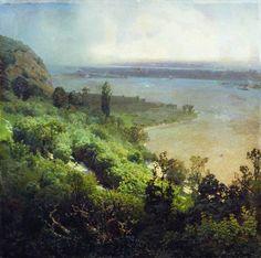 Apollinary Vasnetsov (1856-1933). Russian painter.