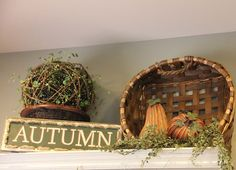Change the sign as you decorate for the seasons: Autumn, Winter, Christmas, Summer, etc.