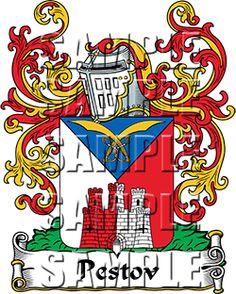 Pestov Family Crest apparel, Pestov Coat of Arms gifts
