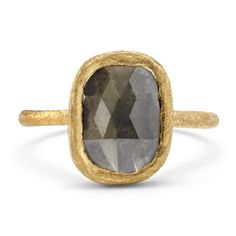 Satomi Kawakita Jewelry | One-of-a-Kind Gray Diamond Ring