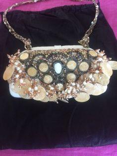 Embellished Mary Frances Purse Mary Frances Purses, Mary Frances Handbags, Shoulder Bag, Ebay, Fashion, Beading, Totes, Moda, Fashion Styles