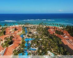 This is a pic of the resort we are staying at in Punta Cana, Dominican Republic.