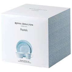 Buy Royal Doulton Pastels Tableware Set, 16 Piece Online at johnlewis.com