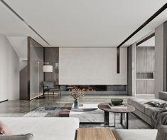 Lobby Interior, Apartment Interior, Living Room Interior, Modern Apartment Design, Home Interior Design, Marble House, Living Room Tv Unit, Living Room Decor Inspiration, Fireplace Design