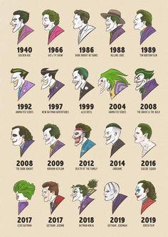 The many faces of Joker : batman Joker Und Harley, Le Joker Batman, Batman Arkham, Batman Robin, Harley Quinn And The Joker, Gotham Joker, Batman Beyond, Photos Joker, Joker Images