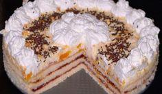 Trasená mandarínková torta