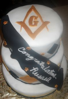 Cake made for a mason induction