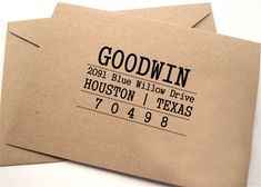 Business Address Stamp, Custom Rubber Stamp, Self Inking Address, Return Address Stamp Self Ink, Personalized Rubber Stamp Custom Gift HS72P