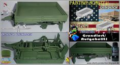 Shortys Werkbank: M1082 LMTV-workbench-Painting!-Schritt1!- Grundier...