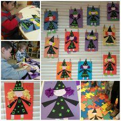 . Casa Halloween, Halloween Arts And Crafts, Theme Halloween, Halloween Activities For Kids, Halloween Projects, Halloween Cards, Fall Crafts, Halloween Decorations, Art Plastique Halloween