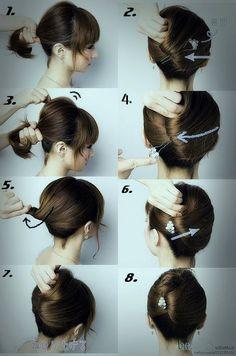 Easy Wedding Hairstyles For Medium Hair | Tutorial