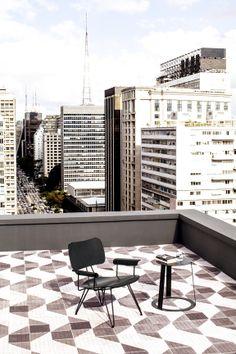 Appartement à São Paulo, architectes Triptyque © Matthieu Salvaing (AD n°113 décembre-janvier 2013)