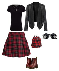 """""""Untitled #6"""" by almma-karic ❤ liked on Polyvore featuring H&M, Joseph, Dr. Martens, Wet Seal and Aéropostale"""