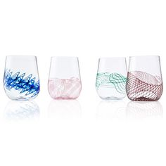 Look what I found at UncommonGoods: Spiro Stemless Wine Glass Set for $170 #uncommongoods