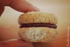 Baci di dama (Baisers des dames) - biscuits italiens croquants & moelleux - sans GLO (gluten, lait, oeuf)| Bouillon d'idées