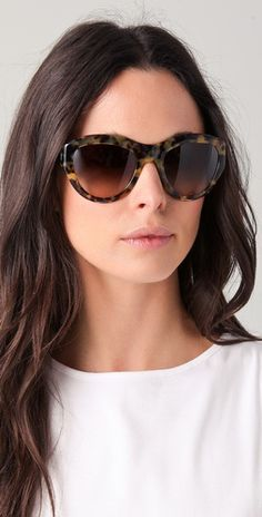 I have an addiction to sunglasses. These are by Tory Burch.