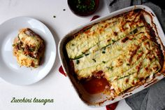 Zucchini lasagna (low carb) – Travel & Food
