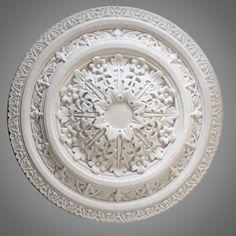 Ceiling Rose 249 - Medium Victorian - Ossett Mouldings Ltd Ceiling Rose, Restoration, Decorative Plates, Roses, Carving, Victorian, Medium, Design, Home Decor