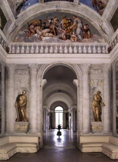 The Hall of Olympus at Villa Barbaro. Maser - Italy