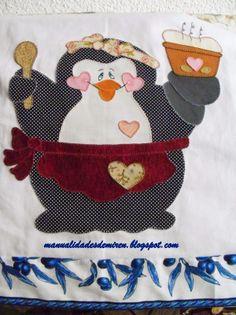 Pañito de cocina pinguino - De todo un poco
