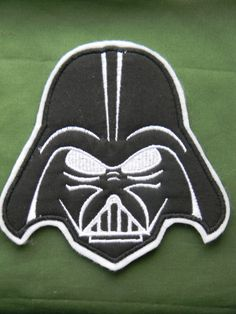 Darth Vader~Custom~Made to Order~Iron On Embroidered Applique~ Stars Wars Fans - perfect for shirts on Etsy, $8.00