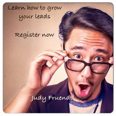 Free Live Training http://www.workwithjudyfruendt.com/free-live-training/