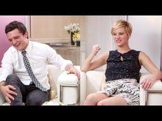 Jennifer Lawrence & Josh Hutcherson on 'Catching Fire'