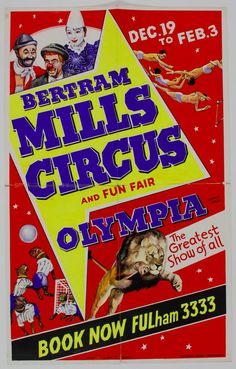 Bertram Mills Circus and Fun Fair, Olympia: The Greatest Show of All via @rosegridneff