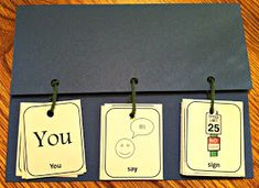 Make Your Own Initial /s/ Flipbook From Free Printable To download click on the image to open it full size.  Then right click on the image,...