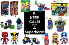 For the little heroes...   To order: http://www.shopaholic.com.ph/