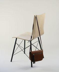 ROMA RX krzesło ze sklejki, metalowa rama