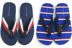 8f719988606c Tommy Hilfiger Men s SOUTHY Mesh Top Sandals FlipFlops USA Seller   TommyHilfiger  FlipFlops